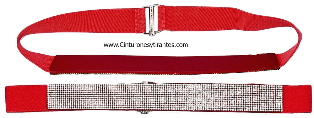 ADJUSTABLE BELT WOMEN WITH ORNAMENT STRASS