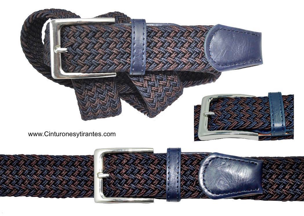 NAVY BLUE AND DAR BROWN