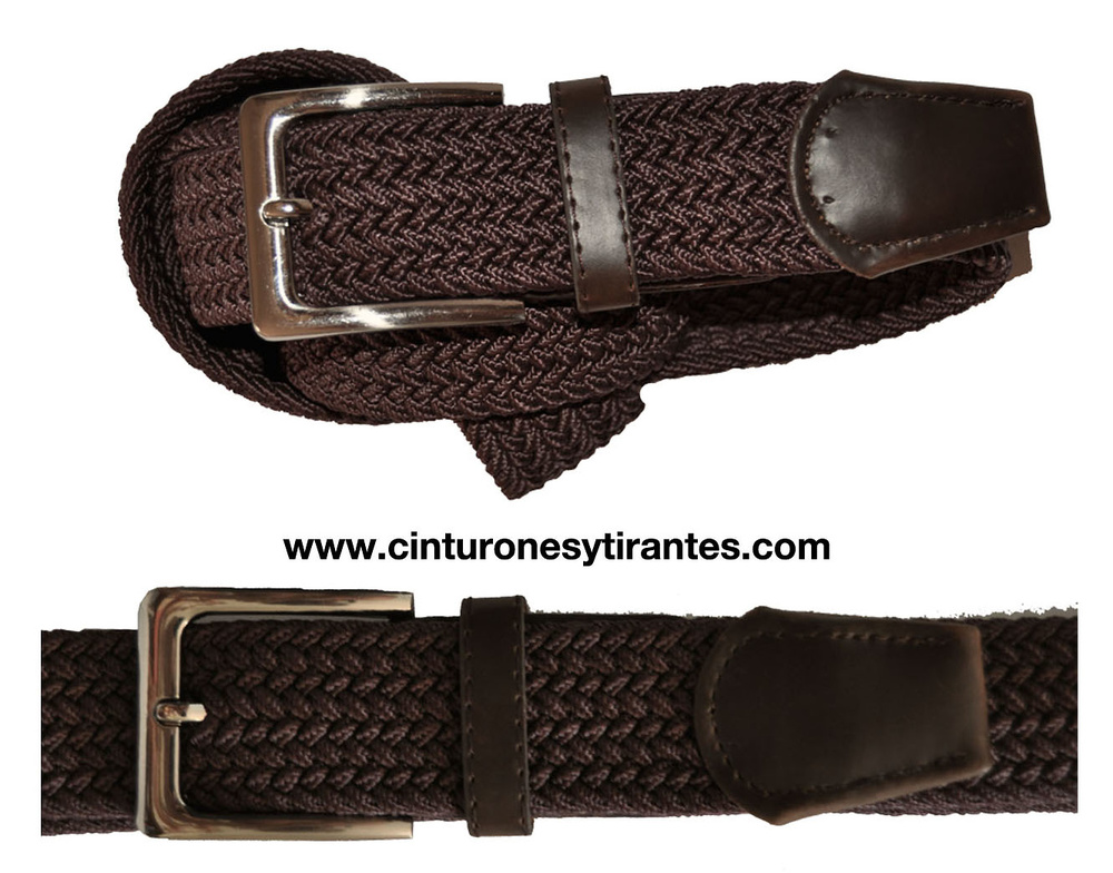 BRAIDED RUBBER LONG BELT FOR MAN OR YOUNG