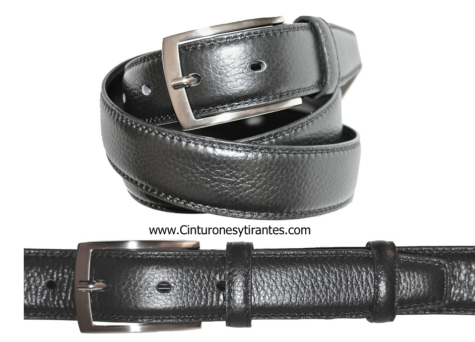 BUFFALO LEATHER BELT FOR MEN FOR DRESS
