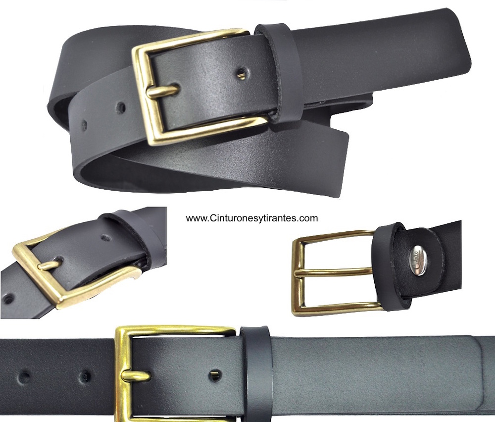 BLACK AND GOLD BUCKLE