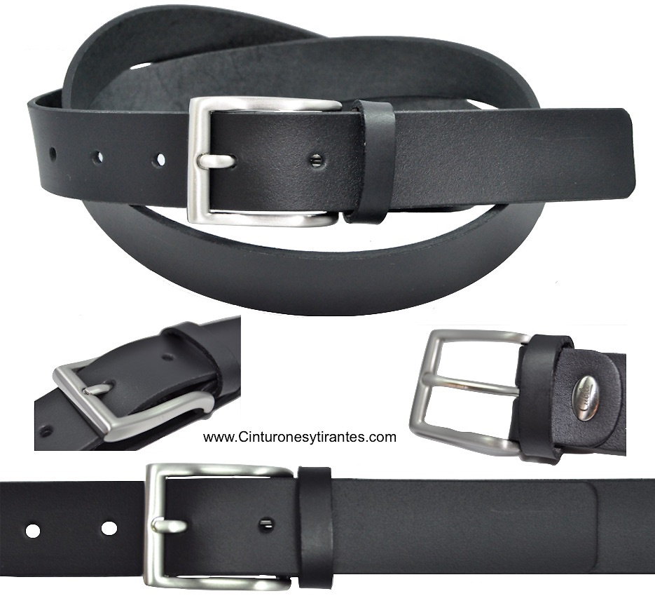BLACK AND SILVER BUCKLE