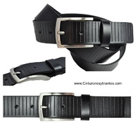 BELT MAN DESIGN GUIDED MARK CUBILO IN LEATHER