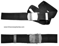 BELT  NYLON TAPE WITH BUCKLE AUTOMATIC LONG