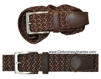 BRAIDED ELASTIC BELT COLOR COMBINATION