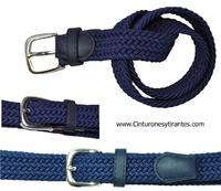 BRAIDED RUBBER BELT FOR CHILDREN