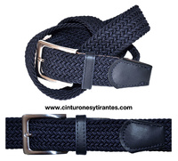 BRAIDED RUBBER BELT FOR MAN OR YOUNG