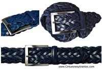 BRAIDING HANDMADE LEATHER BELT