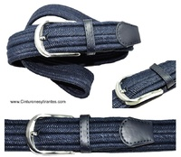 ELASTIC BELT BRAIDED OF NATURAL FIBER VERY STRONG -NATURE-