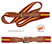 ELASTIC BELT  MAN  FLAG SPAIN