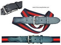 ELASTIC BELT WITH EXTRA-STRIPE BELT WITH QUALITY BUCKLE