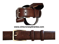 GENTLEMAN BELT LEATHER COW