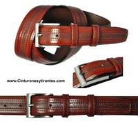GENTLEMAN BELT LEATHER DRESS