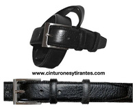 LEATHER BELT FOR MEN OR CADET