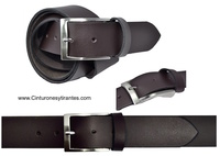 LEATHER BELT MAN SPORT OR INFORMAL DRESS