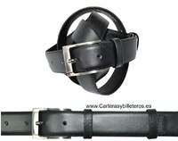 LEATHER BELT MENS CLASSIC