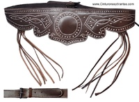 LEATHER COUNTRY BELT TRIM  STITCHING