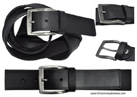 LEATHER MAN BELT WIDTH QUALITY