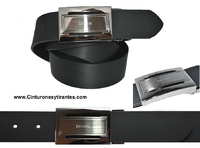 MENS LEATHER BELT BUCKLE TOP