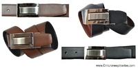 REVERSIBLE LEATHER BELT FOR MAN