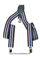 SUSPENDERS STRIPED FOR CHILDREN UNISEX